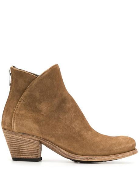 Officine Creative Giselle ankle boots in brown