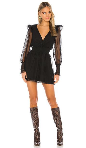 Tularosa Saachi Dress in Black