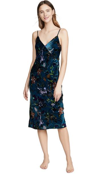 Olivia von Halle Issa Velvet Dress
