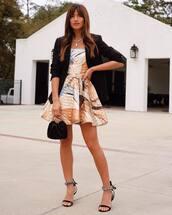 dress,strapless,strapless dress,rocky barnes,instagram,prom dress,prom beauty,sandals,sandal heels,blogger,black blazer,blazer
