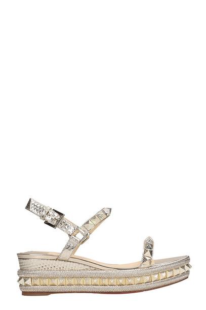 Christian Louboutin Cubiste Specchio Sandals