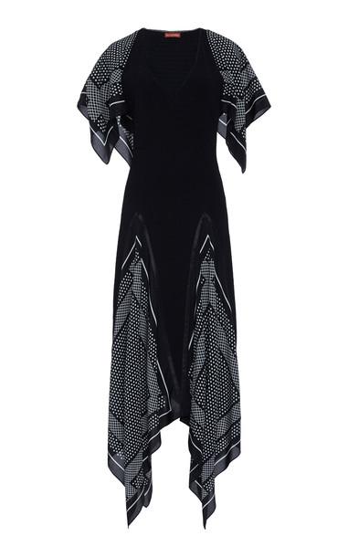 Altuzarra Witchhazel Handkerchief Maxi Dress Size: 34 in black