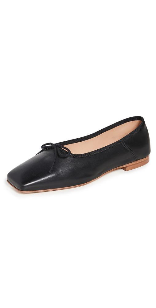 Mansur Gavriel Square Ballerina Flats in black