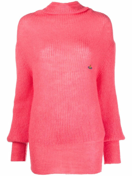 Vivienne Westwood Lisa mohair-blend jumper - Pink