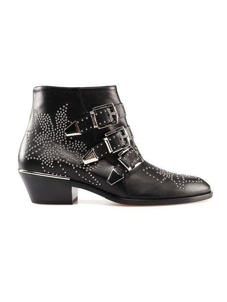 Chloé Susanna Boots in black / silver