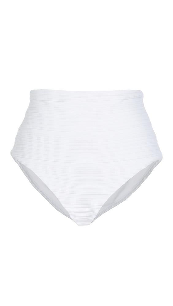 Mara Hoffman Lydia Bikini Bottoms in white