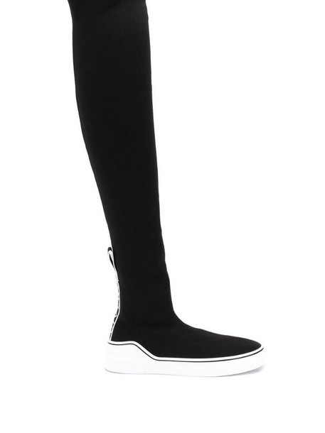 Givenchy George V sock sneaker boots in black