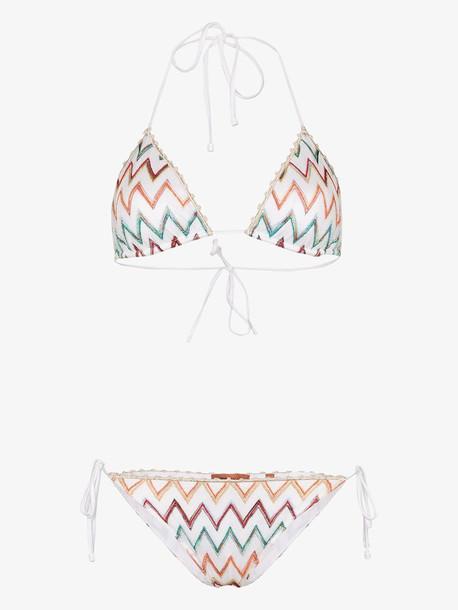 Missoni Mare zigzag knit bikini in multi