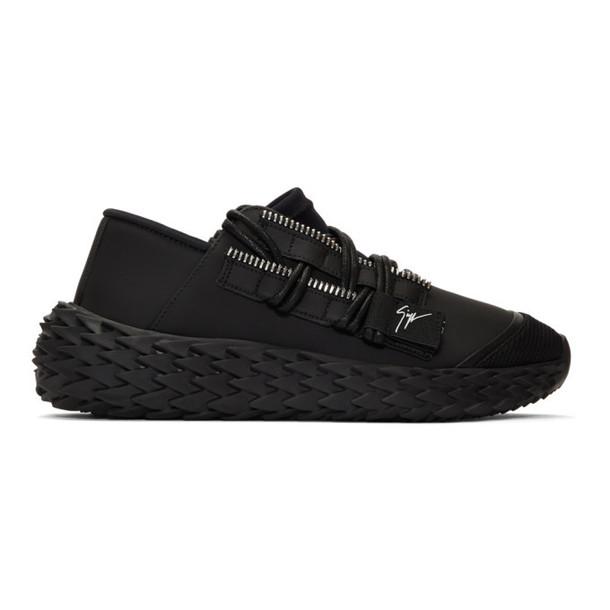 Giuseppe Zanotti Black Ulan Urchin Sneakers