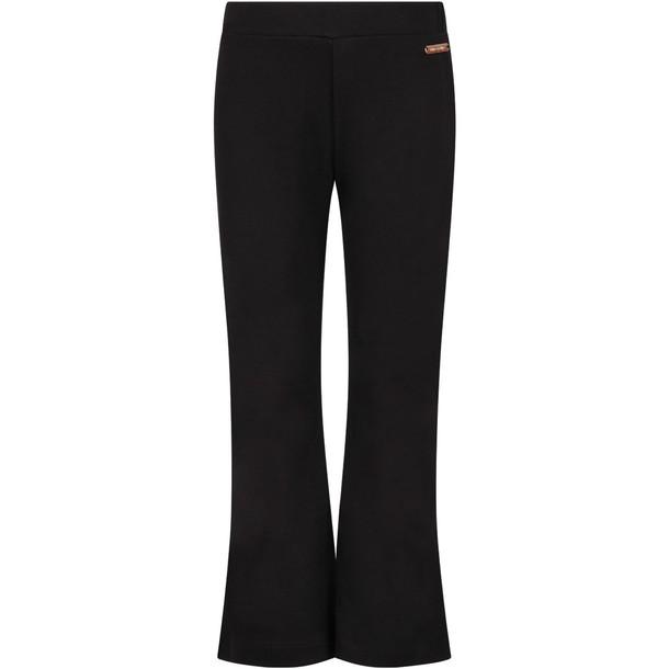 I Pinco Pallino Black Girl Pants With Logo