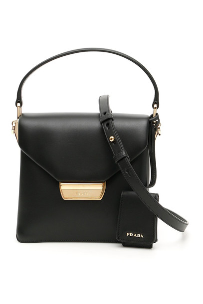 Prada Top Handle Bag in black