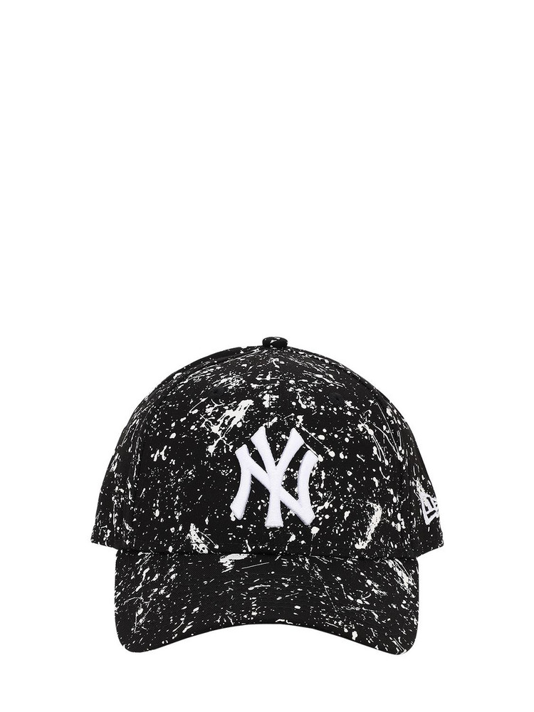 NEW ERA Mlb Paint Pack Cotton Baseball Hat in black / white