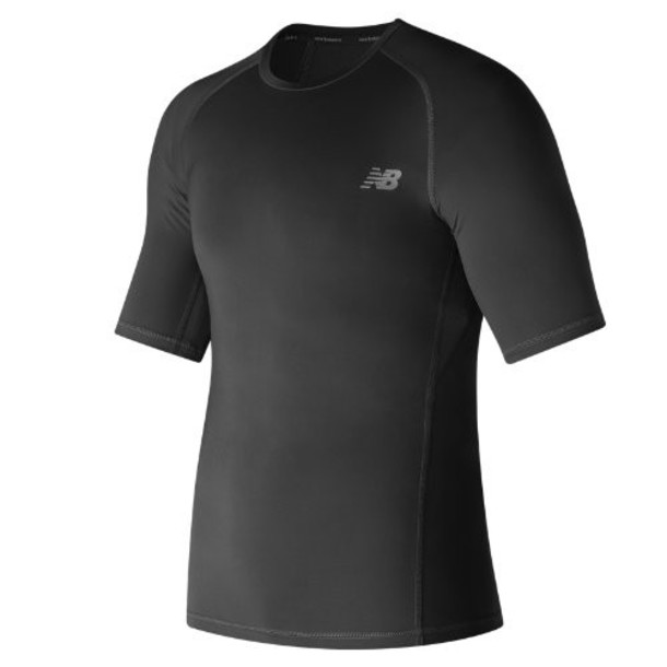 New Balance 73037 Men's Challenge Short Sleeve - Black (MT73037BK)