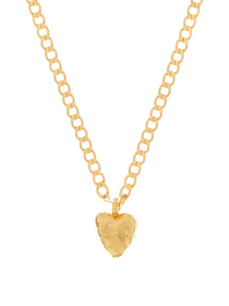 Elise Tsikis - Otov Heart 40cm Necklace - Womens - Gold
