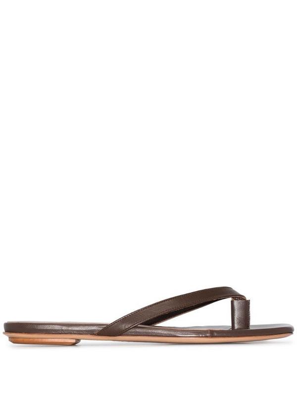 Gia Couture x Pernille Teisbaek Perni 01 sandals in brown