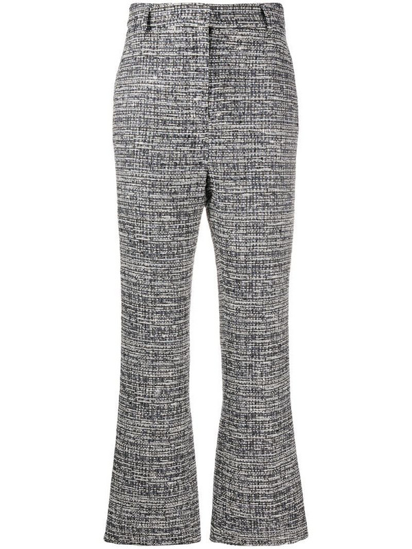 Goat Joey tweed trousers in white