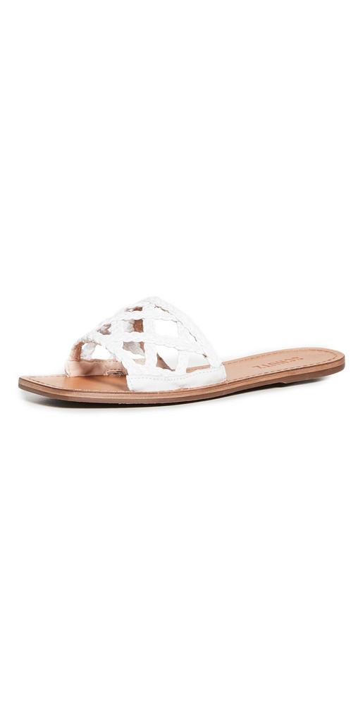 Schutz Ericka Sandals in white