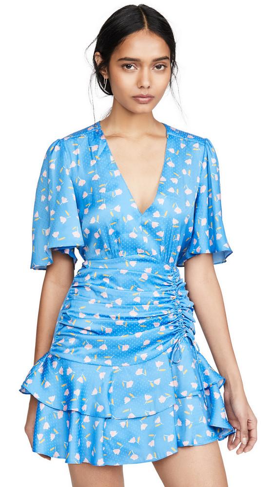 Saylor Mel Mini Dress in blue