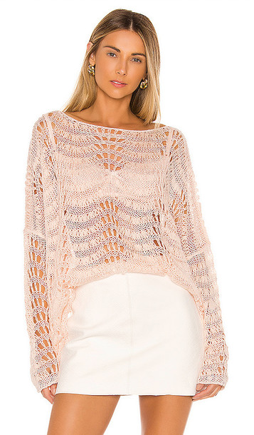 Tularosa Ainsley Sweater in Pink