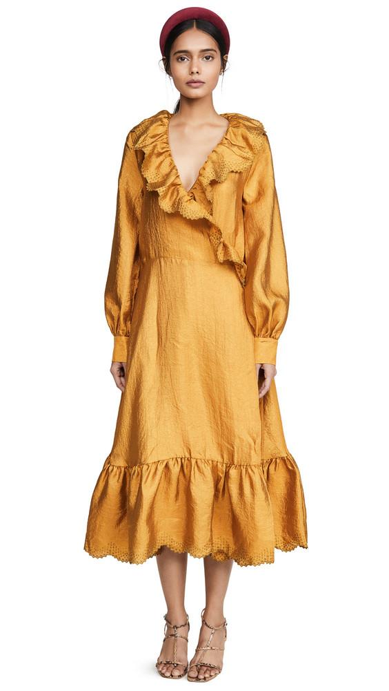 Stine Goya Steffi Dress in gold