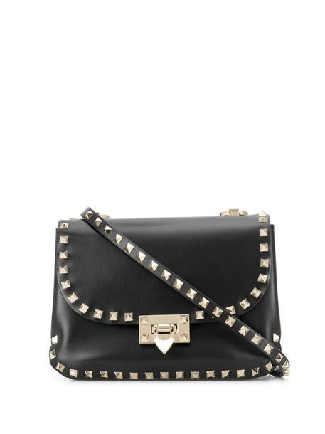 Valentino Garavani Rockstud shoulder bag in black