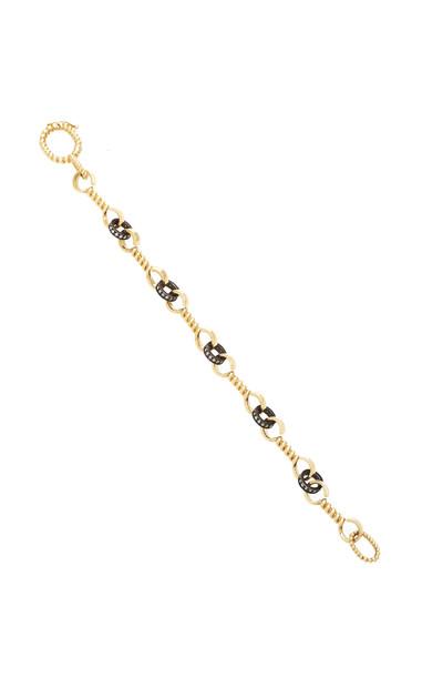 Nancy Newberg Twist bar link bracelet in gold
