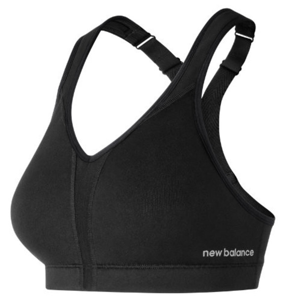 New Balance 71039 Women's NB Power Bra - Black (WB71039BK)