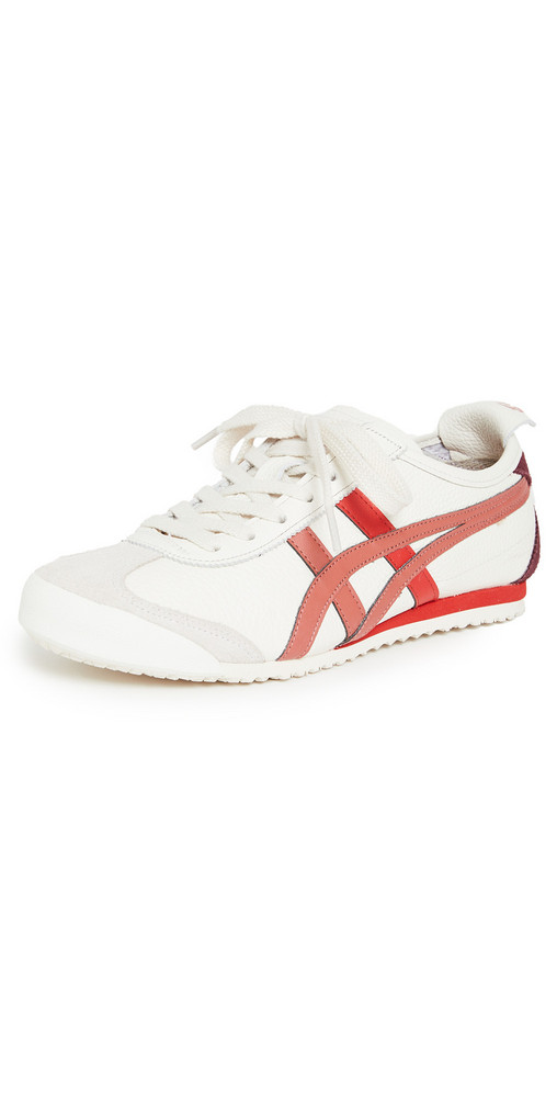 Onitsuka Tiger Mexico 66 Sneakers in brick / cream / red