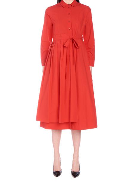 Weekend Max Mara 'flou' Dress in red