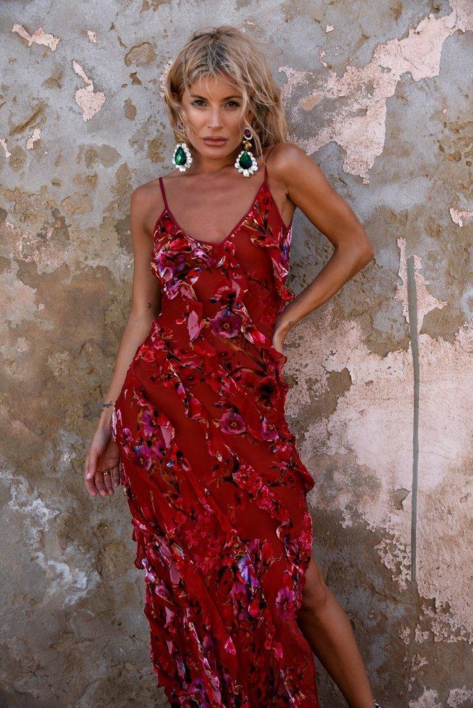 Maribou Dress