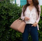 stylish petite,blogger,top,jacket,jeans,shoes,bag,handbag,givenchy bag,spring outfits