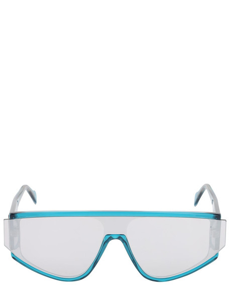 ANDY WOLF Detweiler Acetate Mask Sunglasses in blue