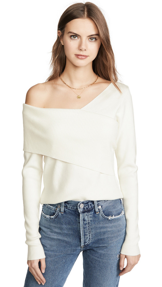 Line & Dot Sylvie Sweater in ivory