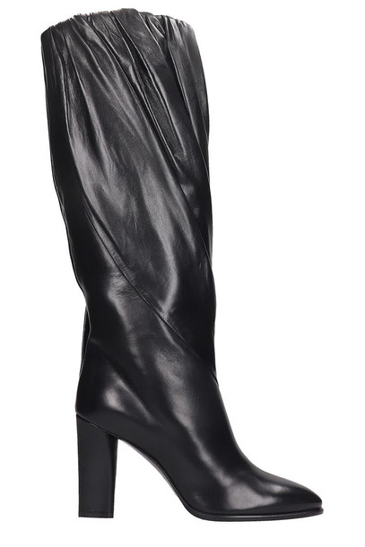 Givenchy Boots In Black Leather