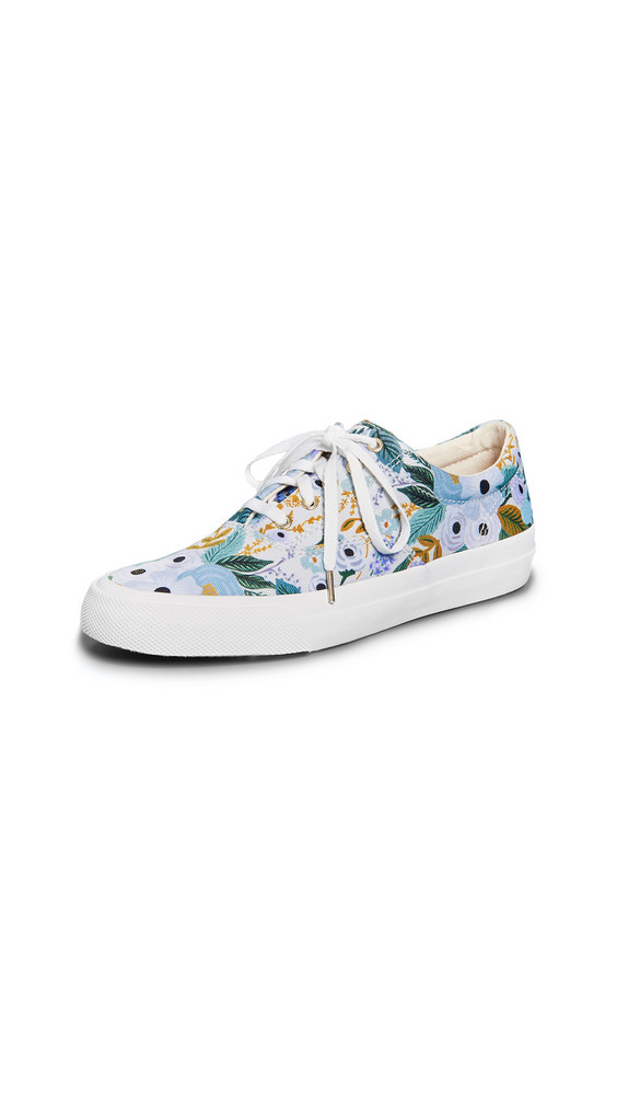 Keds x Rifle Paper Co. Garden Party Sneakers in gray