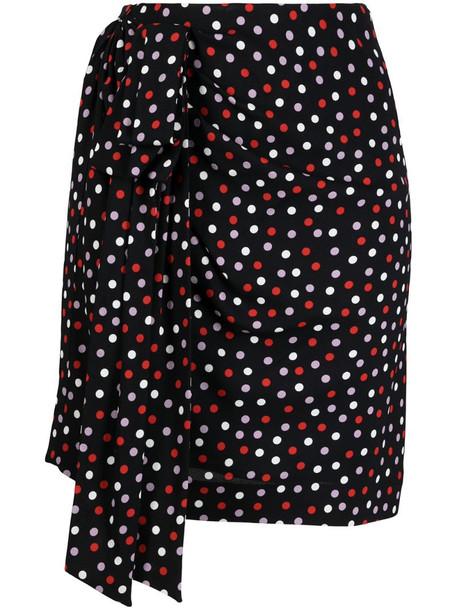Philosophy Di Lorenzo Serafini polka dot-print mini skirt in black