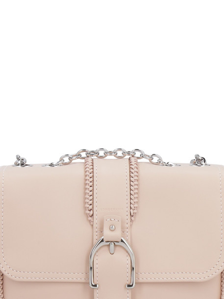 Longchamp Amazone Xs Leather Shoulder Bag in pink