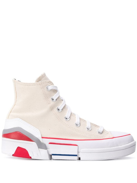 Converse CPX 70 high-top sneakers in neutrals