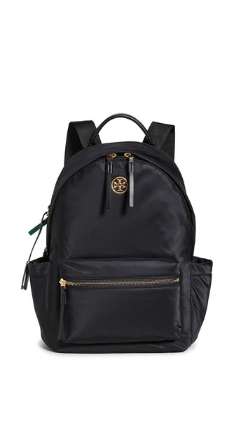 Tory Burch Piper Zip Backpack in black
