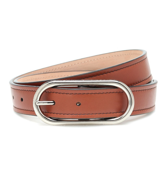 Acne Studios Leather belt in brown