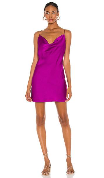 Jay Godfrey Baldwin Dress in Purple