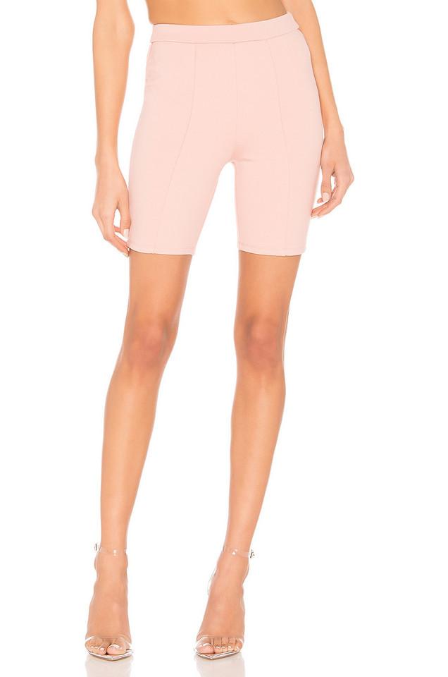 Lovers + Friends Riri Biker Shorts in pink