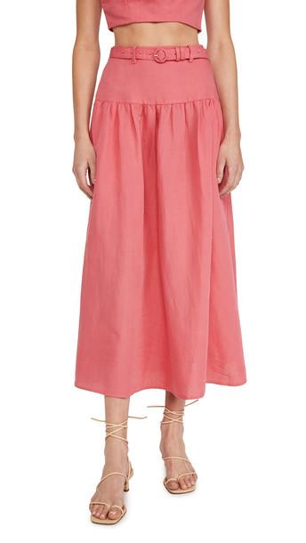 Saloni Zawe Skirt in pink