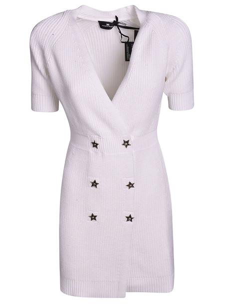 Elisabetta Franchi Celyn B. Elisabetta Franchi Celyn B. V-neck Double Breasted Dress