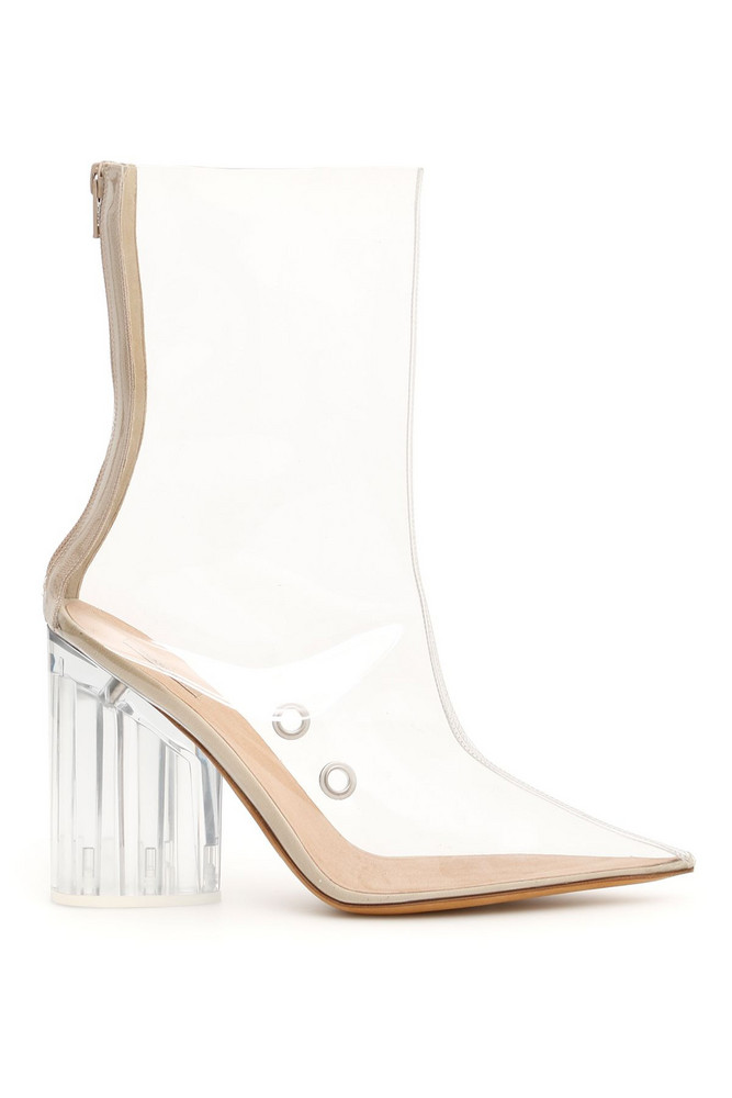 Yeezy Pvc Booties in clear