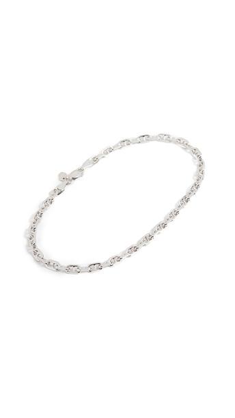 Maria Black Porto Anklet in silver