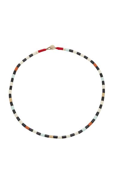 Roxanne Assoulin Terrazzo Enamel Necklace in multi