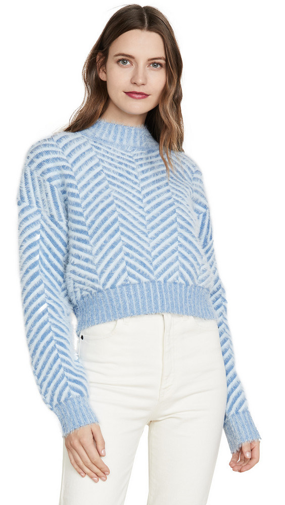 C/Meo Collective Stuck On You Sweater in blue