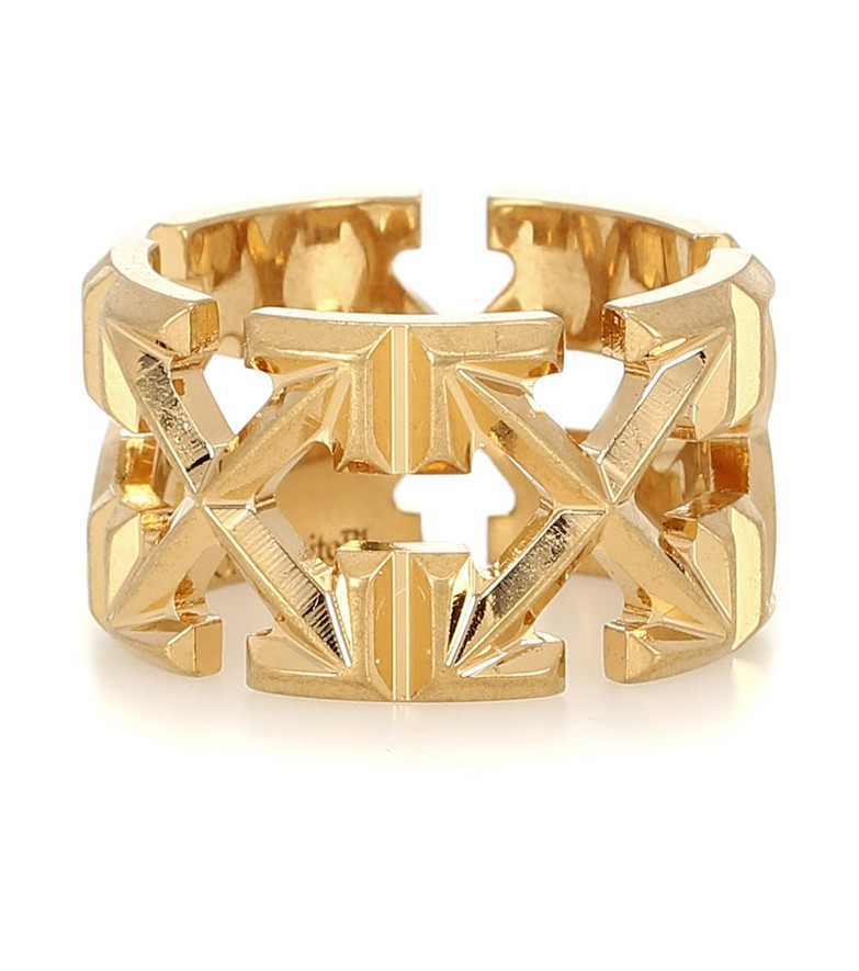 Off-White Arrow ring in gold