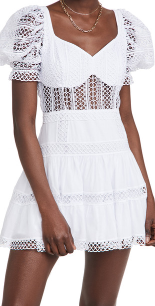 Charo Ruiz Katharine Dress in white